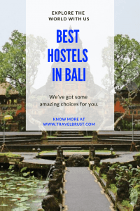 Best Hostels in Bali