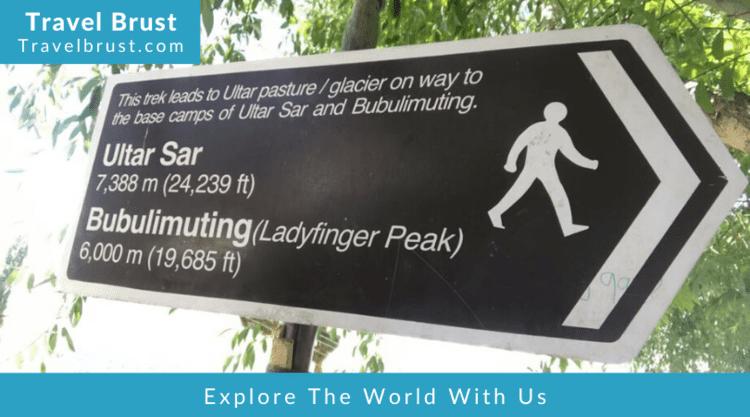 Trekking to Ultar Sar & Bubulimuting