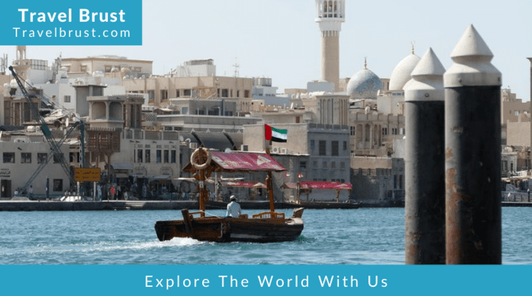 Abra Ride and Shopping at the Souks